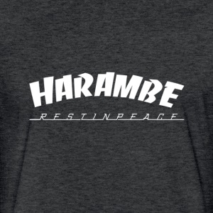 Harambe rest in peace T-Shirts - Fitted Cotton/Poly T-Shirt by Next Level