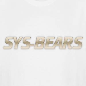 sys-bears T-Shirts - Men's Tall T-Shirt