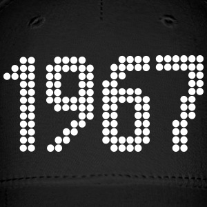 1967, Numbers, Year, Year Of Birth Sportswear - Baseball Cap