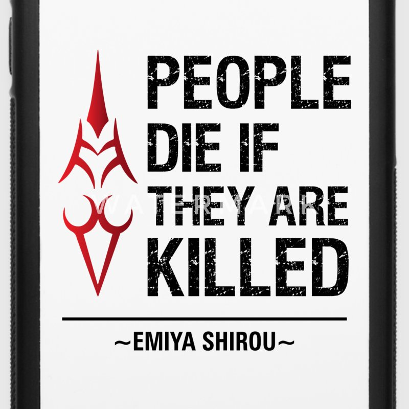 People Die if They are Killed Phone Case - iPhone 6/6s Rubber Case