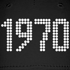 1970, Numbers, Year, Year Of Birth Sportswear - Baseball Cap