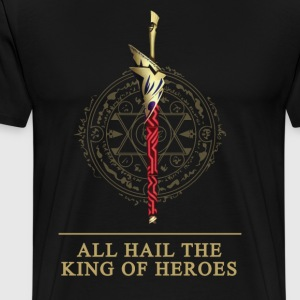 Enuma Elish All Hail The King of Heroes T-Shirt - Men's Premium T-Shirt