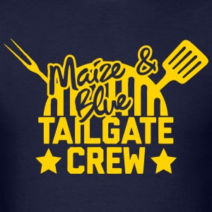 Maize & Blue Tailgate Crew T-Shirts - Men's T-Shirt