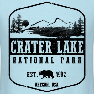 Crater Lake National Park T-Shirts - Men's T-Shirt