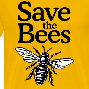 Save The Bees S-5X T-Shirt - Men's Premium T-Shirt