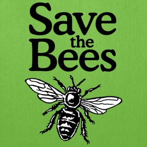 Save the Bees Tote Bag - Tote Bag
