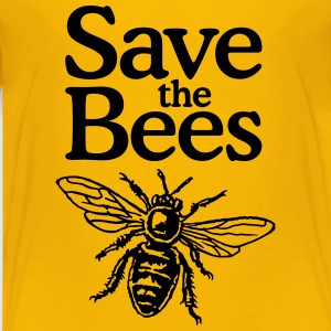 Save The Bees Beekeeper Quote Design Kids' Shirts - Kids' Premium T-Shirt