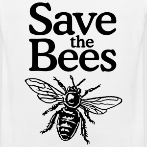 Save The Bees Beekeeper Quote Design Sportswear - Men's Premium Tank