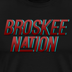Broskee Nation  - Men's Premium T-Shirt