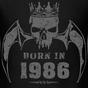 born_in_the_year_198603 T-Shirts - Men's T-Shirt