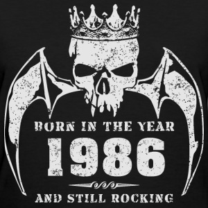 born_in_the_year_198601 T-Shirts - Women's T-Shirt