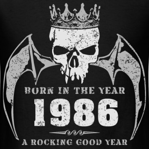 born_in_the_year_198602 T-Shirts - Men's T-Shirt