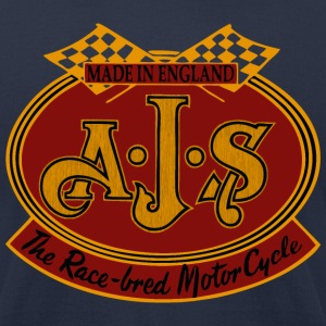 race motorcycle T-Shirts - Men's T-Shirt by American Apparel