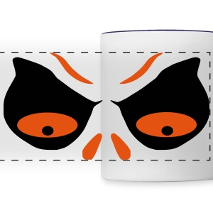 holiday face Mugs & Drinkware - Panoramic Mug