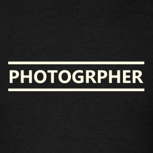 photographer - Men's T-Shirt