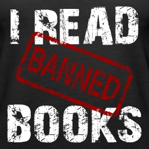 READ BANNED BOOKS Tanks - Women's Premium Tank Top