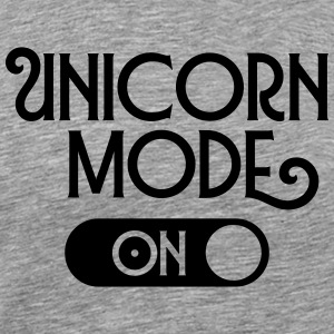 Unicorn Mode (On) T-Shirts - Men's Premium T-Shirt