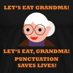 Punctuation Shirt - Men's Premium T-Shirt