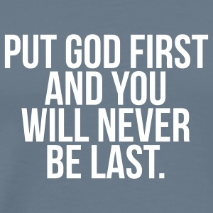 Put God First T-shirts - Men's Premium T-Shirt