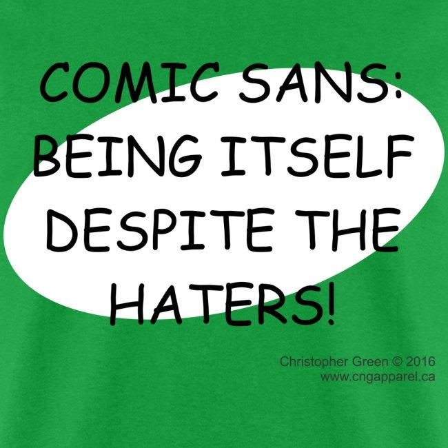 Comic Sans GREEN