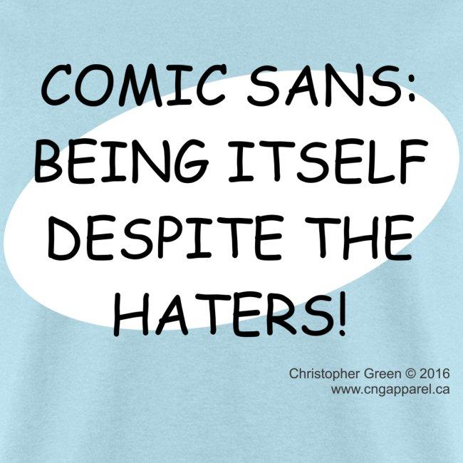 Comic Sans BLUE