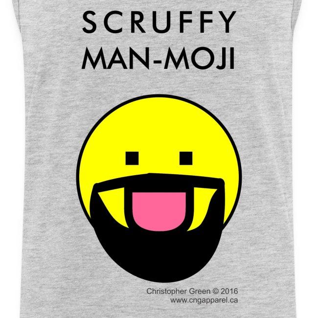 Scruffy Man-moji