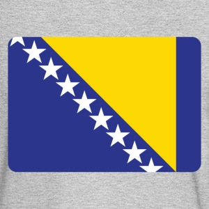 BOSNIA IS THE NUMBER 1 Long Sleeve Shirts - Men's Long Sleeve T-Shirt