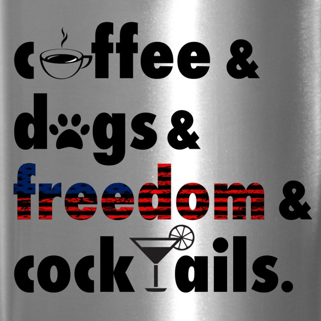 CoffeeAndDogs Thermal Cup