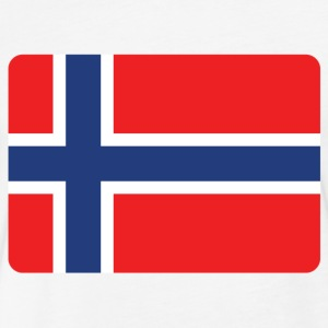 NORWAY IS THE NUMBER 1 T-Shirts - Fitted Cotton/Poly T-Shirt by Next Level