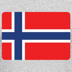 NORWAY IS THE NUMBER 1 Long Sleeve Shirts - Men's Long Sleeve T-Shirt by Next Level