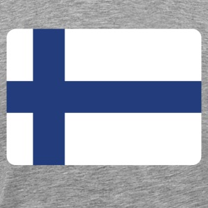 FINLAND IS THE NUMBER 1 T-Shirts - Men's Premium T-Shirt