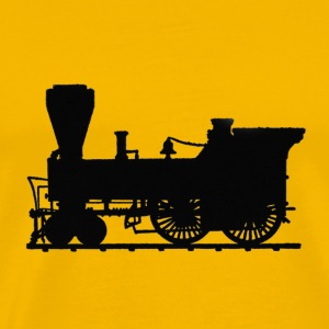 steam engine T-Shirts - Men's Premium T-Shirt