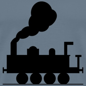 steam engine 2 T-Shirts - Men's Premium T-Shirt