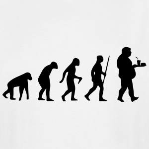 FAST FOOD EVOLUTION  T-Shirts - Men's Tall T-Shirt