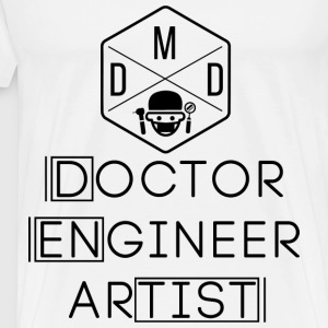 Doctor Engineer Artist - Men's Premium T-Shirt