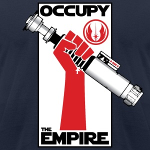 Occupy The Empire v1.1 - Men's T-Shirt by American Apparel