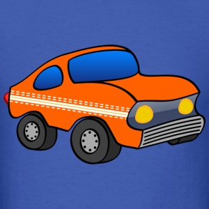 orange funny car T-Shirts - Men's T-Shirt