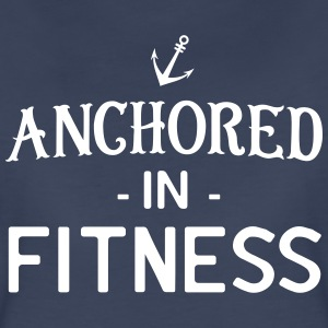 Anchored in Fitness T-Shirts - Women's Premium T-Shirt