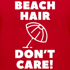 Beach Hair - Women's V-Neck T-Shirt