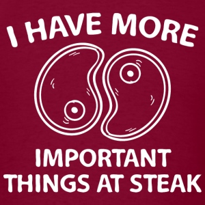 Things At Steak - Men's T-Shirt