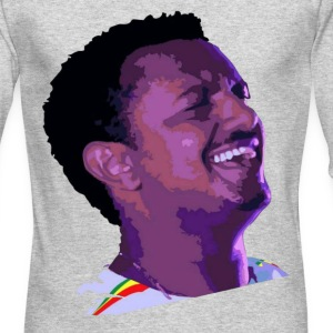 Teddy Afro long Sleeve T-shirt - Men's Long Sleeve T-Shirt by Next Level