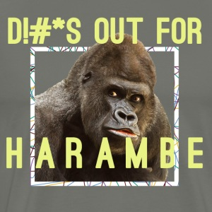 Harambe Tribute - Men's Premium T-Shirt
