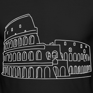 Colosseum in Rome - Men's Long Sleeve T-Shirt by Next Level
