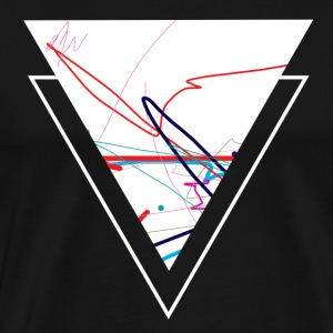 Third Abstraction - Men's Premium T-Shirt