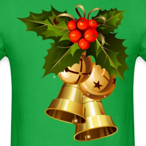 MISTLETOE & JINGLE BELLS GRAPHIC TEE - Men's T-Shirt