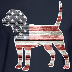 Patriotic Beagle Long Sleeve Shirts - Men's Long Sleeve T-Shirt