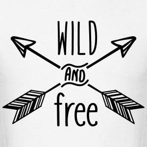 AD Wild and Free T-Shirts - Men's T-Shirt