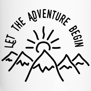 AD Let the Adventure Begin Mugs & Drinkware - Travel Mug