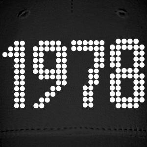 1978, Numbers, Year, Year Of Birth Sportswear - Baseball Cap