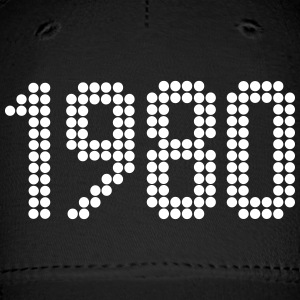 1980, Numbers, Year, Year Of Birth Sportswear - Baseball Cap
